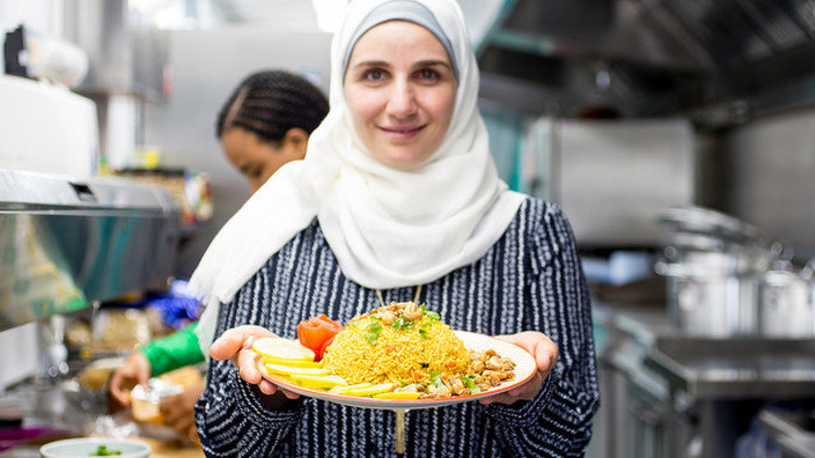 Deliveroo teams up with refugee chefs to bring the world's dishes to Londoners for Refugee Week