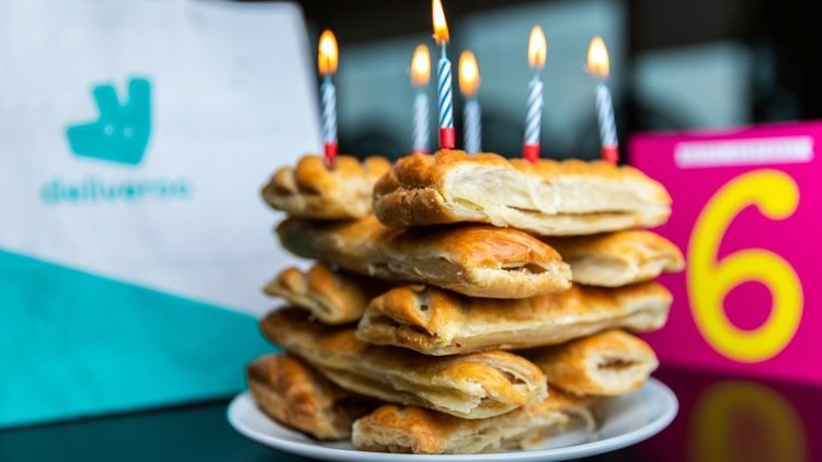 Deliveroo (Sausage) Rolls Out Huge Birthday Giveaway
