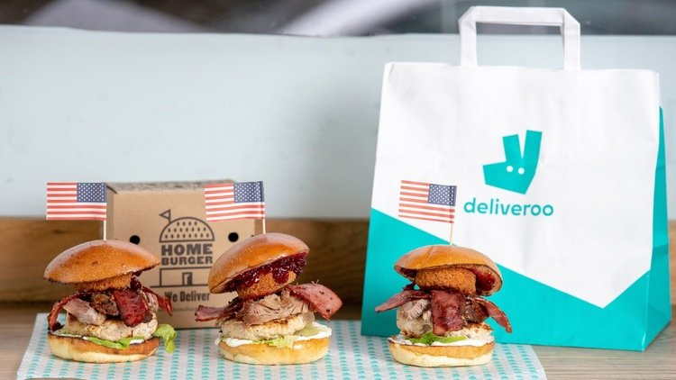 DELIVEROO UNVEILS TURDUCKEN BURGER THROUGH SECRET MENU