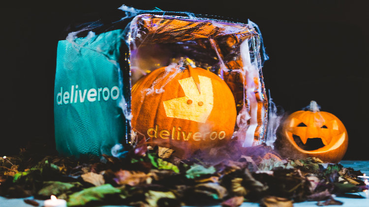 YOU CAN GET A PRE-CARVED PUMPKIN ON DELIVEROO FOR JUST £1