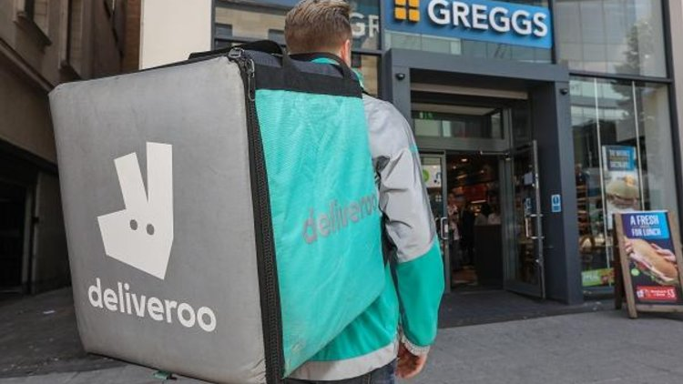 Greggs partners with deliveroo to trial delivery in London, Bristol & Newcastle